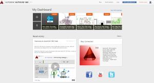 autocad 360 dashboard